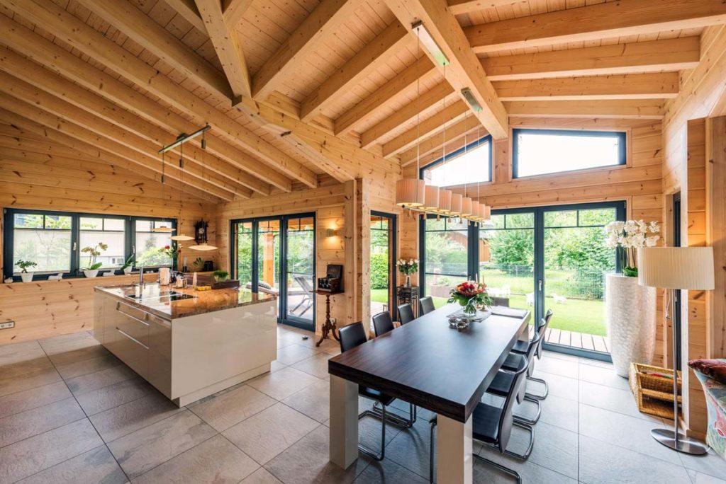ISOTEC szarufa feletti hőszigetelő rendszer modern korszerű házak építéséhez