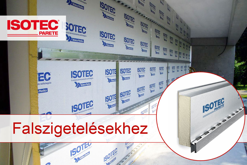 Isotec Parete PUR/PIR hőszigetelő panel falszigetelésekhez